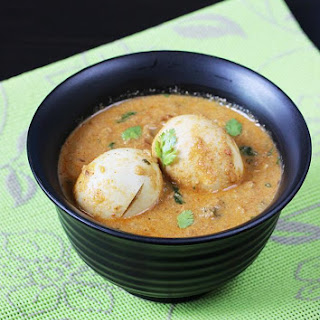 egg kurma recipe | south Indian style egg korma