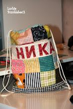 Photo: рюкзачок-мешок для сменки в детский садик (подписанный :-))