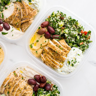 Greek Healthy Meal Prep.