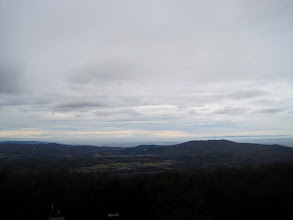 Photo: Blick Richtung Wien, rechts der Anninger