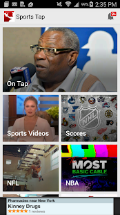 Sports Tap: Games & Scores app- screenshot thumbnail