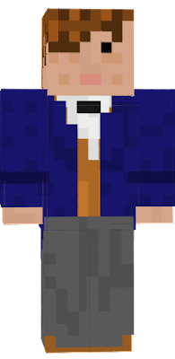 Minecraft skin of the main character from Fantastic Beats: and where to find them