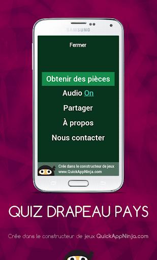 Quiz Drapeau Pays