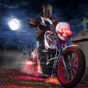 Halloween Night Party Bike Rider 2019 icon