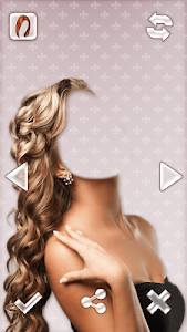 Woman Hair Style Photo Montage screenshot 1