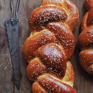 Challah (Braided Egg Bread).