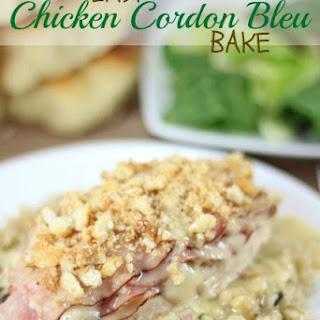 Easy Chicken Cordon Bleu Bake