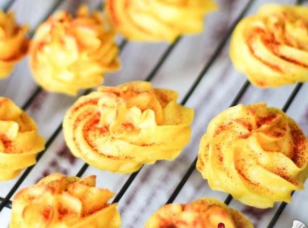 Mashed Potato Swirls With Parmesan Recipe
