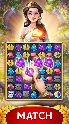 Jewels of Rome: Match gems to restore the city updownapk 1