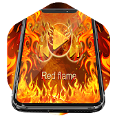 Red Flame Music Player Skin Android APK Download Free By Player Themes Pro