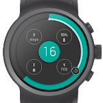 Material Orb Watch Face Icon