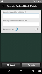 Security Federal Bank Mobile- screenshot thumbnail