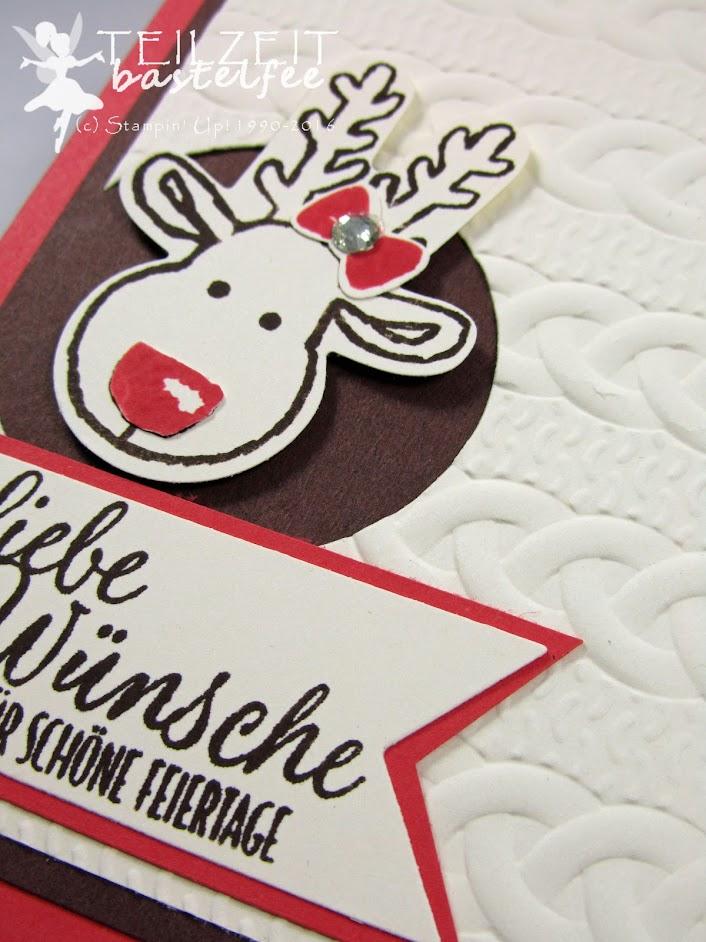 Stampin' Up! – In{k}spire_me #270, Christmas, Weihnachten, Ausgestochen weihnachtlich, Cookie Cutter Christmas, Stanze Lebkuchenmännchen, Cookie Cutter Punch, reindeer, Drauf und Dran, Banner, Tin of Tags