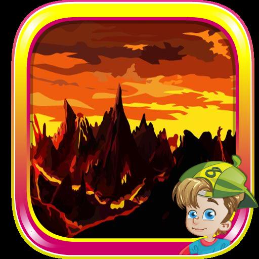 スケルトン火山からの脱出 解謎 App LOGO-硬是要APP