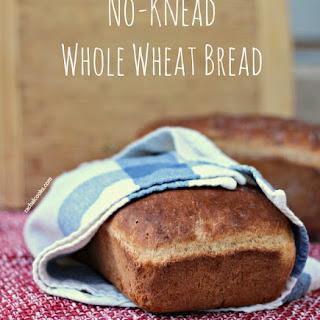 No-Knead Whole Wheat Bread