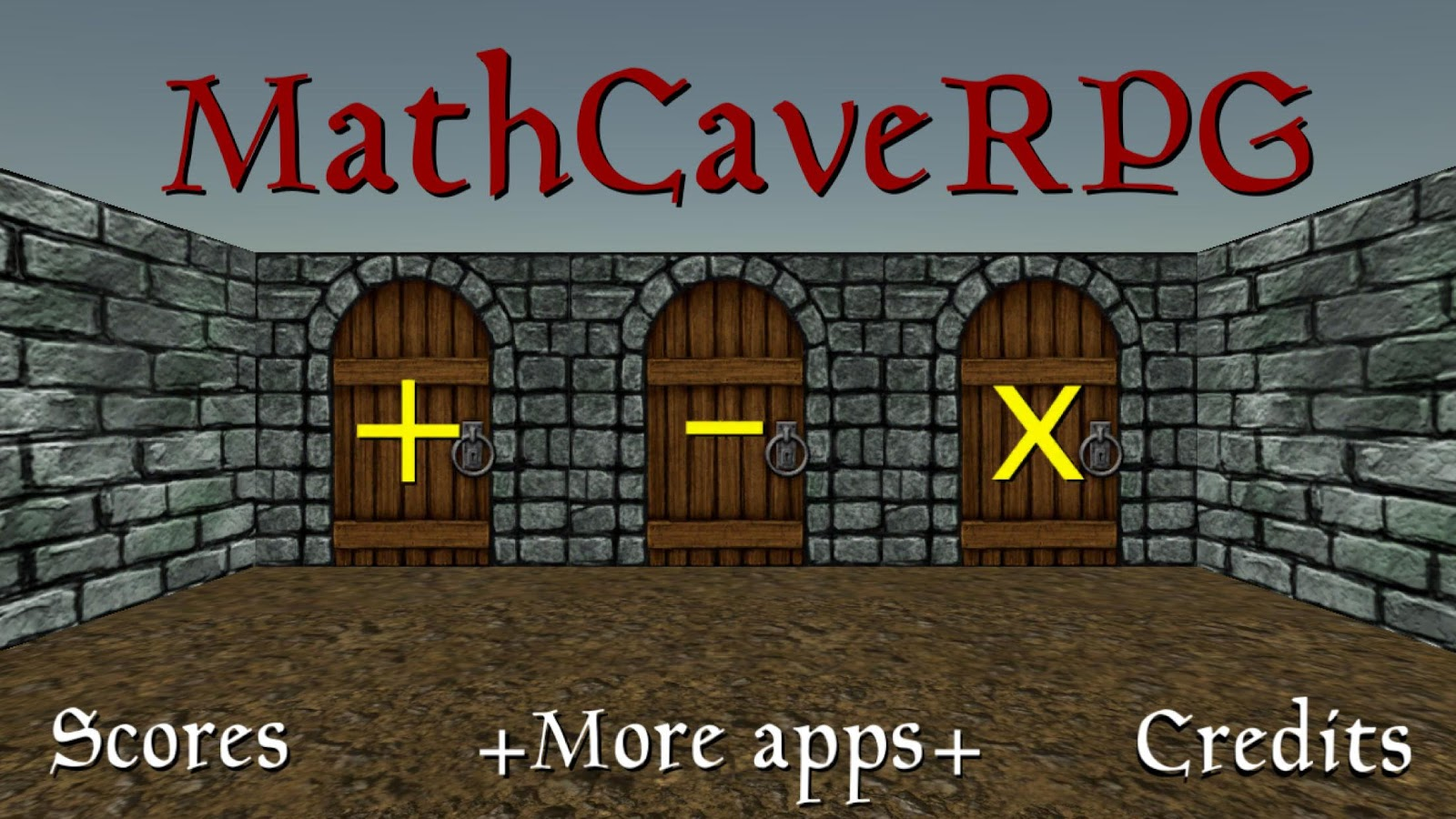 MathCaveRPG- screenshot