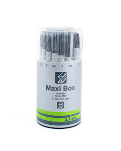 Borrsats Maxi-Box 19st - 1-10mm