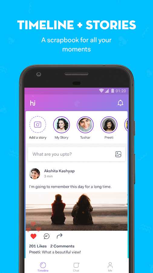 hike messenger – скриншот