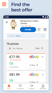 idealo - Price Comparison & Mobile Shopping App Screenshot