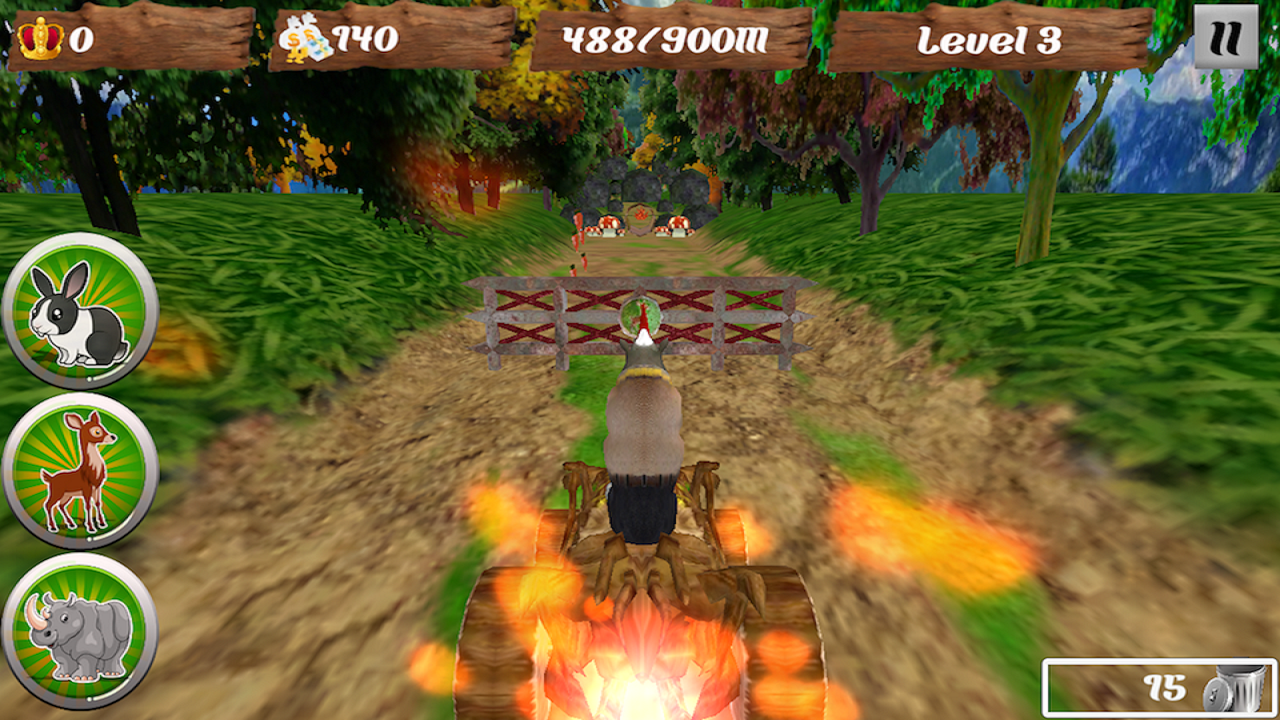Jungle Transform Runners- screenshot