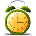 Colorful alarm (Alarm clock) icon