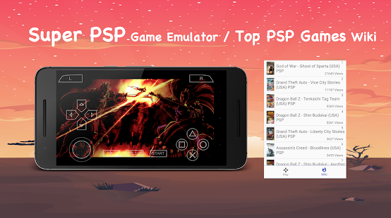 Emulator for Super PSP Screenshot