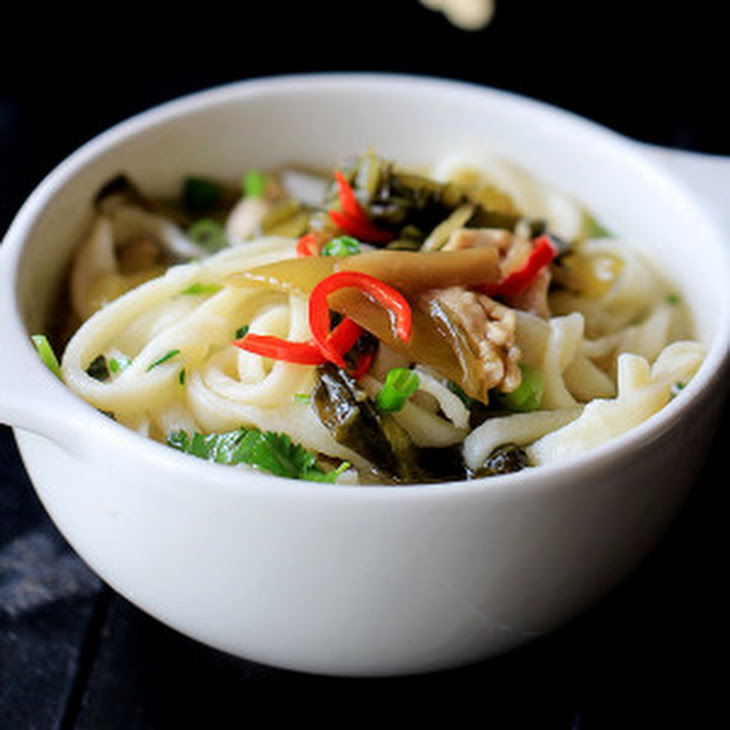 Potlikker Noodles With Mustard Greens Recipes — Dishmaps