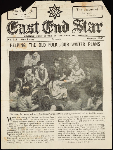 East End Star, October 1945 — Google Arts & Culture