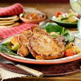 Guajillo Pork Chops.