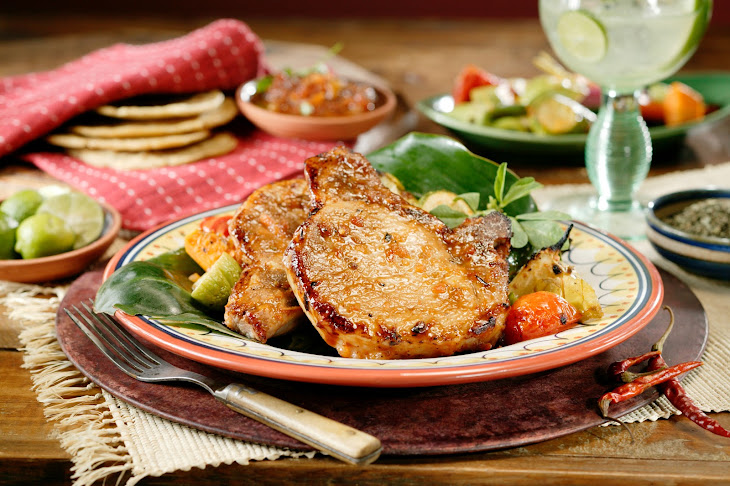 Guajillo Pork Chops Recipe