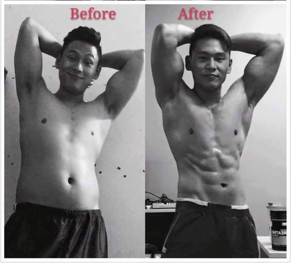 Tập thể hình giúp bạn sở hữu thân hình cơ bắp hoàn hảo