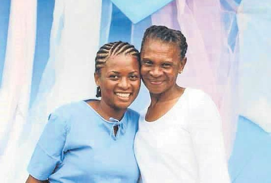 In 2014, four years after she was arrested in Bangkok for smuggling cocaine from Brazil to Thailand, Makhanda's Nolubabalo 'Babsie' Nobanda, left, enjoyed a visit from her mother, Honjiswa Mbewu, at Klong Prem prison. Now they get to see each other on home soil.