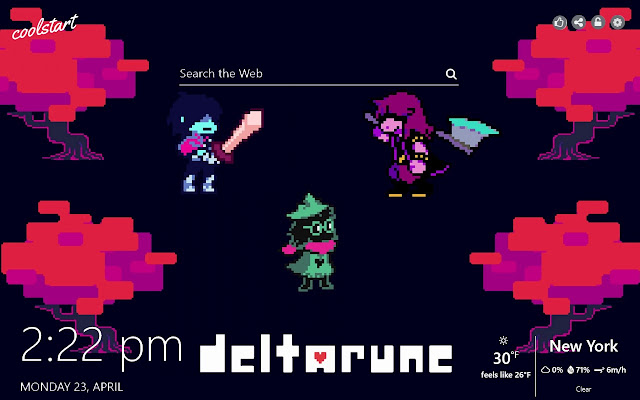 Deltarune HD Wallpapers Games New Tab Theme