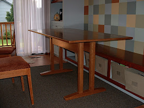 Photo: Dining Room Table - Cherry