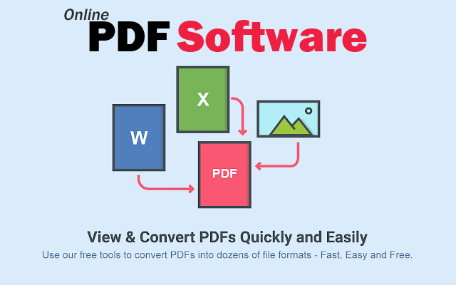 Online PDF Software - Freely convert, edit, split, merge and encrypt all your PDF documents for free