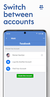 Maki Plus: Facebook & Messenger in 1 ads-free app Screenshot