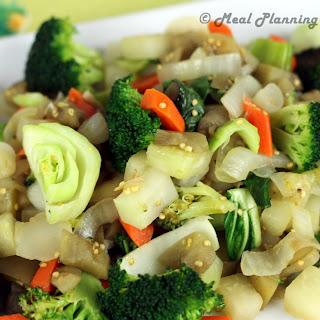 Quickie Asian Veggie Stir-Fry Recipe