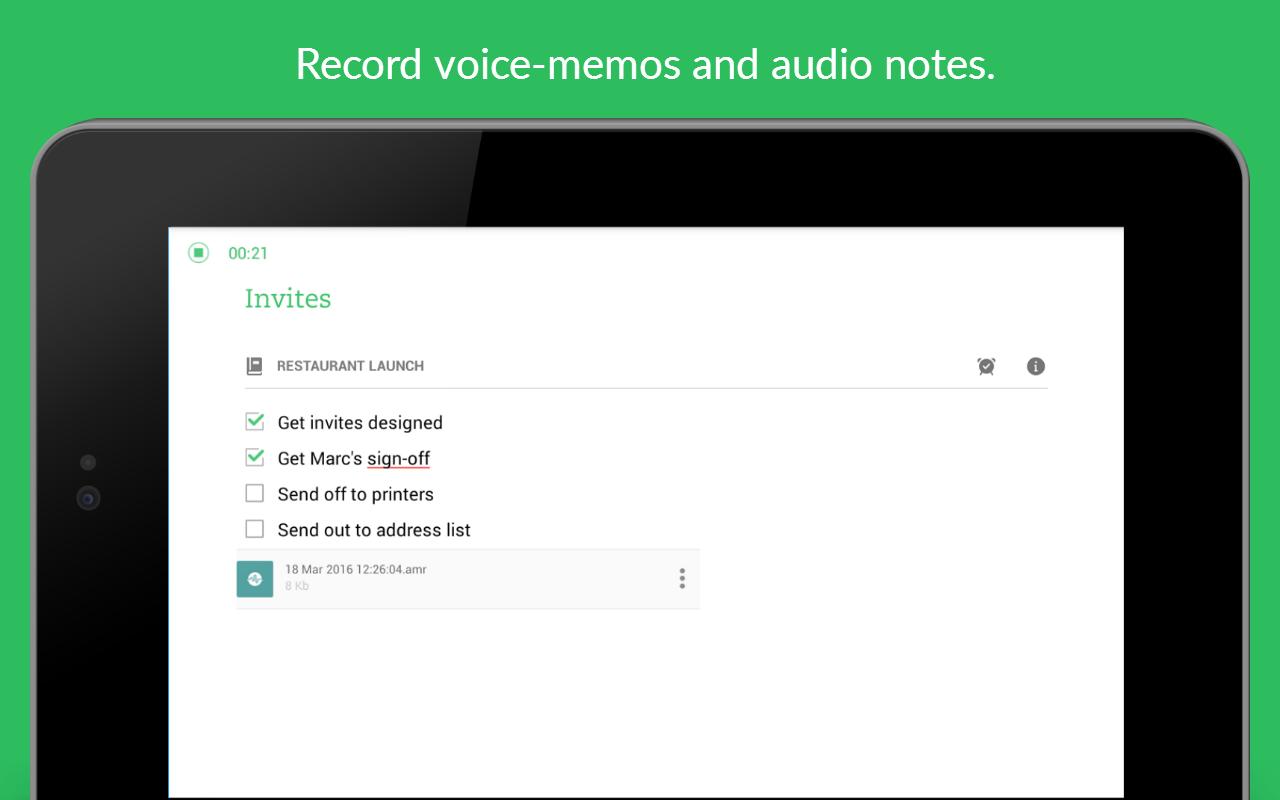 Evernote - stay organized. screenshot #20