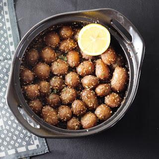 Slow Roasted Za'atar Potatoes.