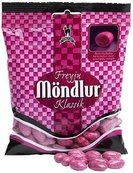 Möndlur - lakritskola med sockerskal – Freyja