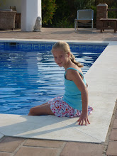 Photo: Millie by the pool
