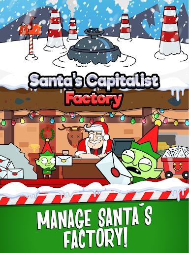 Code Triche Santa's Capitalist Factory - Idle Xmas Tycoon  APK MOD (Astuce) screenshots 6