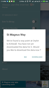 St Magnus Way Pilgrimage Walk- screenshot thumbnail