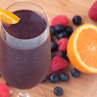 Citrus Berry Breakfast Smoothie Recipe
