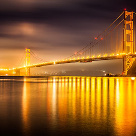 Golden Gate bridge, CA, USA by Rechard Sniper - Buildings & Architecture Bridges & Suspended Structures