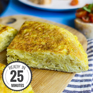 Quick Spanish Omelette Perfect for Breakfast! Recipe