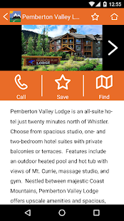 Tourism Pemberton- screenshot thumbnail