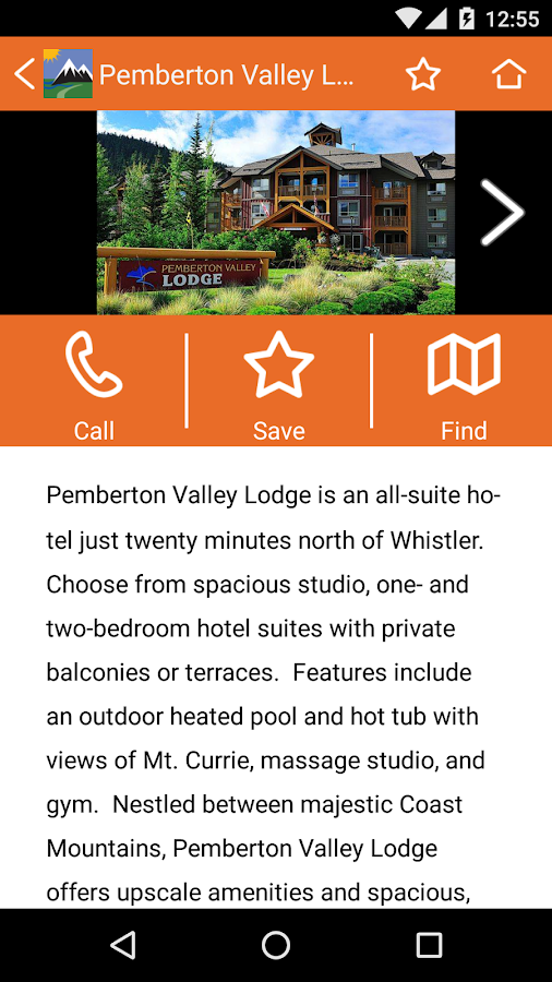 Tourism Pemberton- screenshot