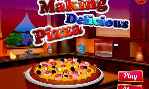 피자 메이커 요리 게임