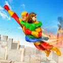 Superhero Flying Rescue Mission icon